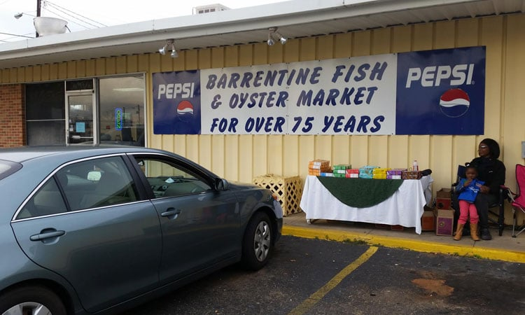 Barrentine Fish Market Exterior